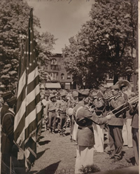 Picture of American Legion Band, 1947